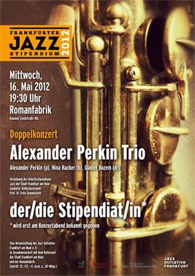 Alexander Perkin Trio + Jazz-Stipendiat